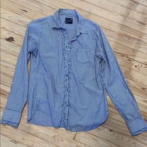Button down blouse American eagle